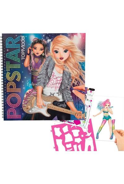 Top Model Popstar Boyama ve Kitabı