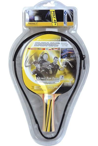 Donıc Level 500 Masa Tenis Raketi + Top