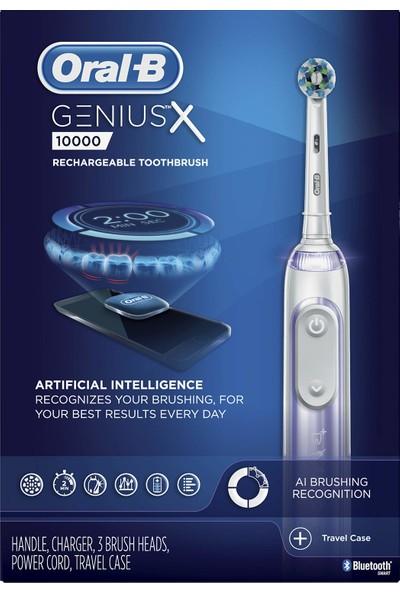 Oral-B Genius x Yapay Zeka Destekli Şarjlı Diş Fırçası (Yurt Dışından)