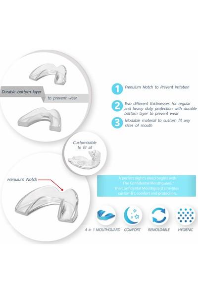 The Confidental Diş Gıcırdatma Sıkma Bruksizm Için Ağız Koruyucu 5'li Paket