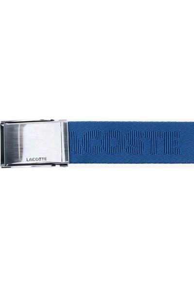 Lacoste Casual Erkek Baskılı Mavi Kemer
