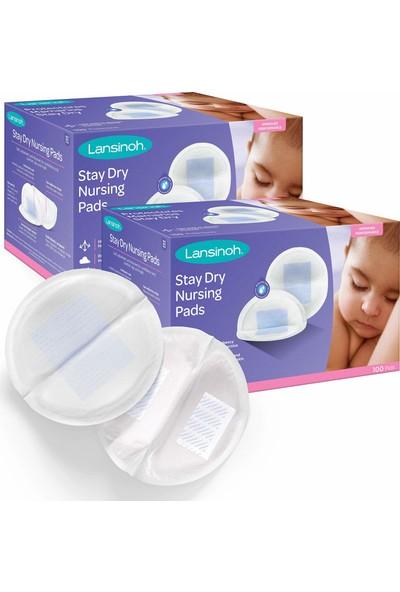 Lansinoh Stay Dry 100'lü Emzirme Pedi - 2'li