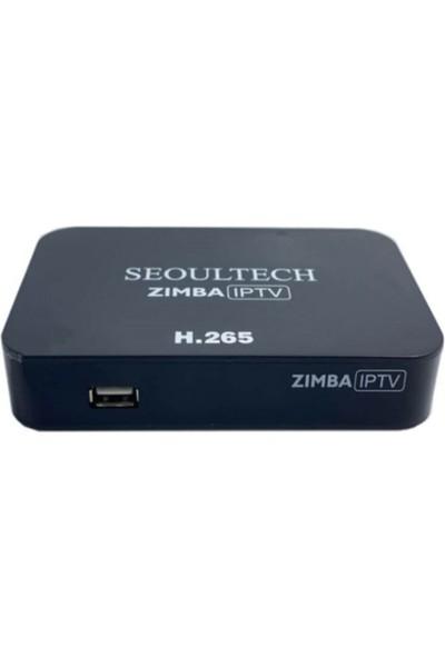 Seoultech Zımba Iptv Uydu Alıcısı Ethernetli Lınux Tabanlı H265 Full Hd