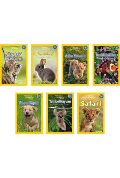 National Geographic Kids Okul Öncesi Set 7 Kitap