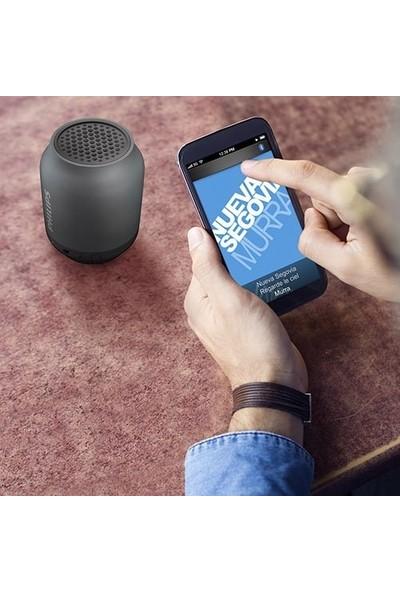 Philips BT50B/00 Taşınabilir Kablosuz Bluetooth Hoparlör Siyah