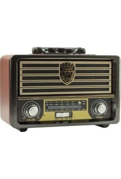Powerway NSJ03 Nostaljik Bluetooth Fm Radyo