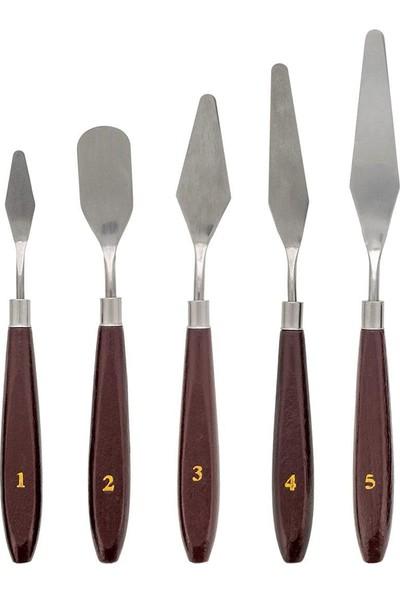Linea Metal Spatül 5'Li Set