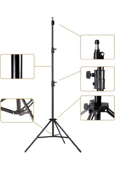 Mirfak Audio Vlogger Youtuber Set (Yaka Mikrofonu + LED Ring Light)