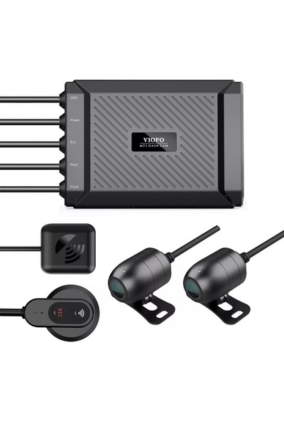 Viofo Mt1 Full HD Wİ-Fi GPS Motosiklet Ön Arka Kayıt Kamerası