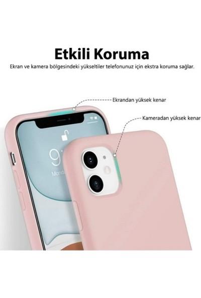 Lea Shopping Apple Iphon 11 Içi Kadife Özel Dokulu Tam Koruma Lansman Kılıf Mor
