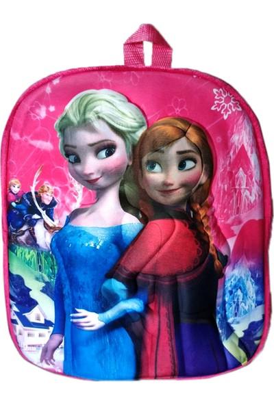 Redpoloshop Çocuk Sırt Çantası Peluş 5d Kabuk 3-6 Yaş Ice Girls