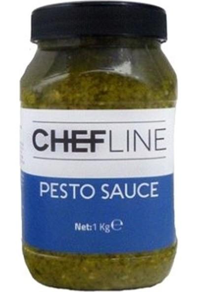 Chefline Pesto Fesleğenli Makarna Sosu 1 kg