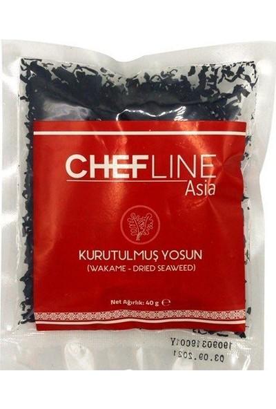 Chefline Wakame Kurutulmuş Yosun 40 gr
