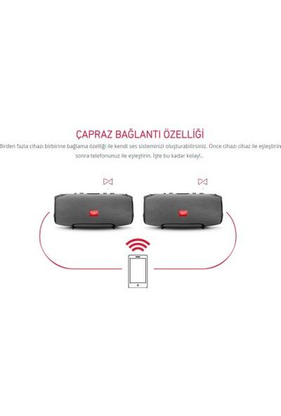Powerway Speaker Powerway Wrx 08 Bluetooth Kablosuz Red