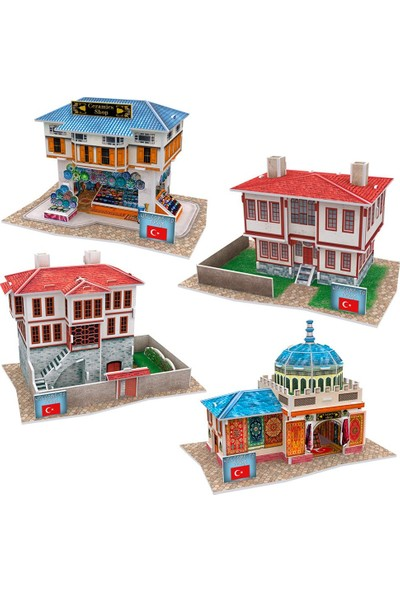 Cubic Fun 3D Puzzle Türk Mağazaları Seti