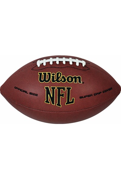 Wilson Nfl Super Grip Amerikan Futbolu Topu