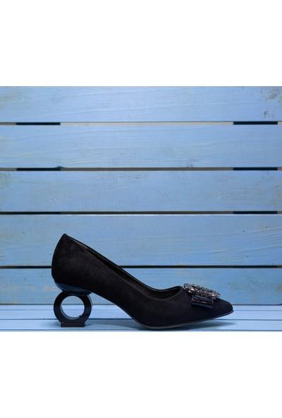 Papuç Halka Topuklu Ayakkabı