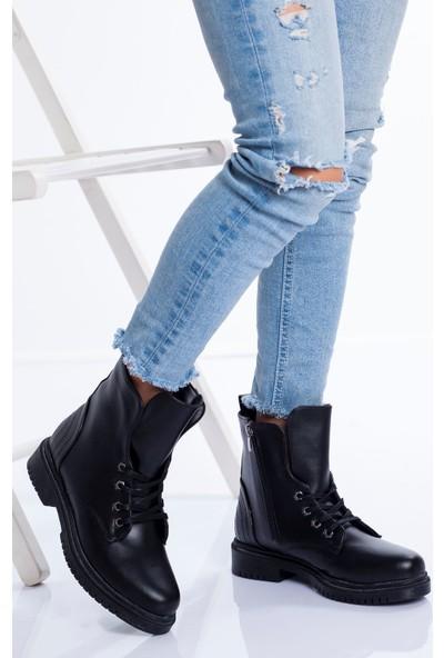 Ayakkabı Frekansı Davin Bot Siyah Cilt