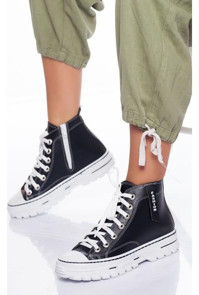 Ayakkabı Frekansı Nomi Bot Siyah Cilt