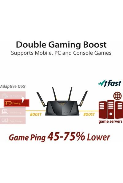 Asus RT-AX88U AX6000 Dual-Band Wifi Router 6000 Mbps (Yurt Dışından)