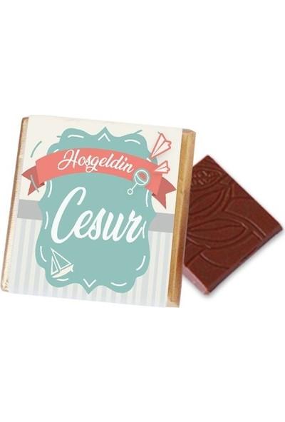 Hayal Sepetim Erkek Bebek Çikolatası (120 Madlen)
