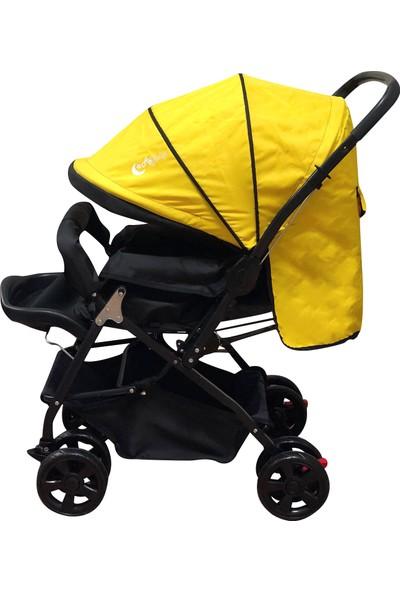 AyBaby Nano Çift Yönlü Tam Kapanır Tenteli Bebek Arabası