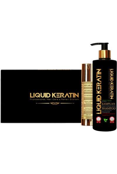 Liquid Keratin Keratin Saç Dökülme Seti Mini