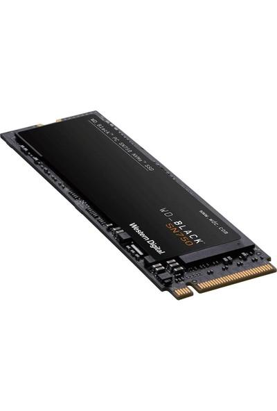 Wd Black SN750 Nvme 500GB WDBRPG5000ANC-WRSN 3470MB-2600MB/S M.2 2280 SSD