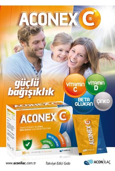 Acon İlaç Aconex C Beta Glucan+Cinko+C Vitamini+D Vitamini