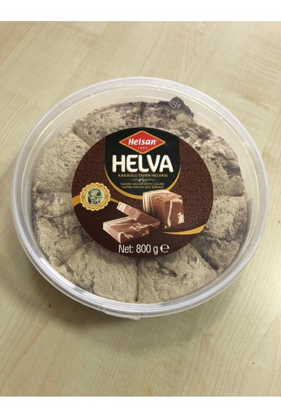 Helsan Kakaolu Papatya Helva 800 gr