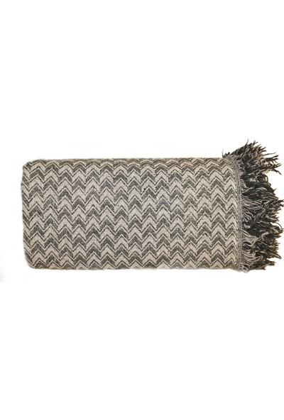 Fluffy Soft Koltuk Çekyat Örtüsü Yeşil 170x230 cm