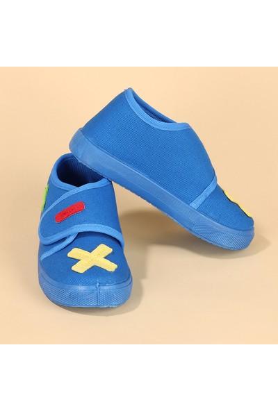 Sanbe 106S112 Okul Kreş Kız - Erkek Çocuk Panduf Ayakkabı