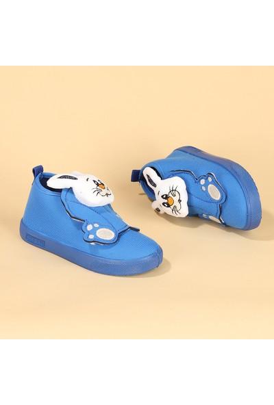 Sanbe 106S132 Okul Kreş Kız Çocuk Panduf Ayakkabı