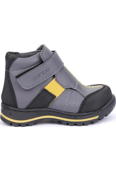 Sanbe 112P1201 Kışlık Anatomik Cırtlı Erkek Çocuk Bot Ayakkabı