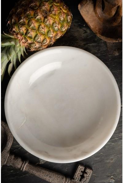Voodo Concept Bianco Cendra Beyaz Mermer Kase
