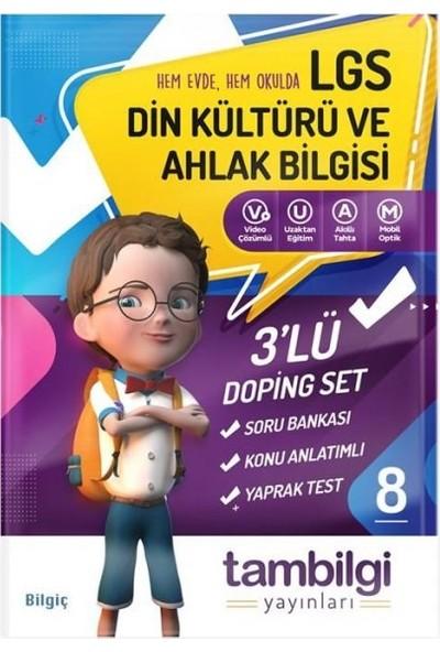 Tambilgi Yayınları 8. Sınıf 3'lü Din Kültürü ve Ahlak Bilgisi Doping Set