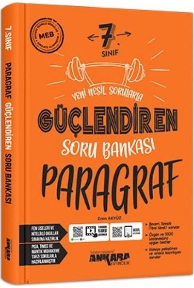 Ankara Yayınları - 7. Sınıf Paragraf Soru Bankası Güçlendiren