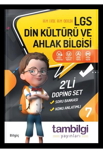 Tambilgi Yayınları 7. Sınıf Din Kültürü ve Ahlak Bilgisi Doping Set