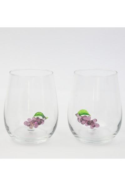 Adamodart Üzüm Figürlü 2 Li Su Bardağı