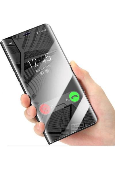 Smart Tech Samsung Galaxy A20S Aynalı Kapaklı Lüx Kılıf
