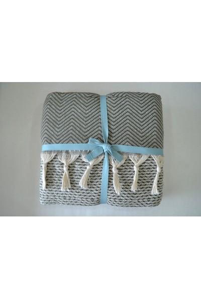 Kurular Tekstil Pamuklu Pike Çift Kişilik