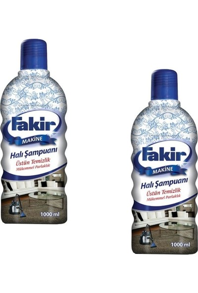 Fakir Halı Şampuanı Matik 1000 ml x 2'li