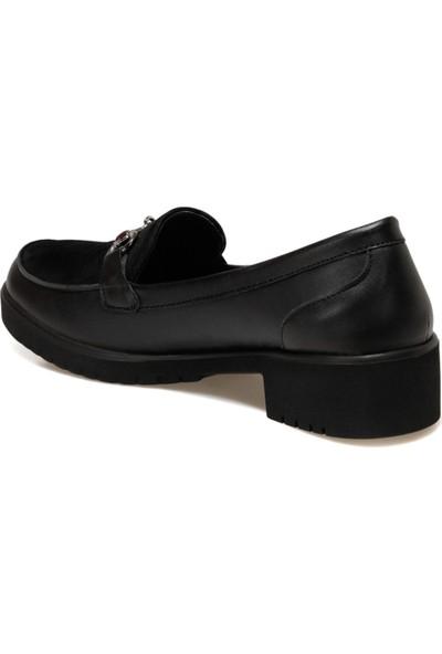 Travel Soft TRV1713S Siyah Kadın Loafer Ayakkabı