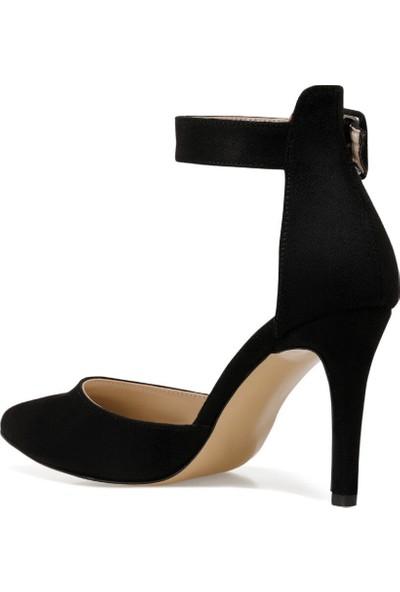 Nine West Ceyna Siyah Kadın Topuklu Sandalet