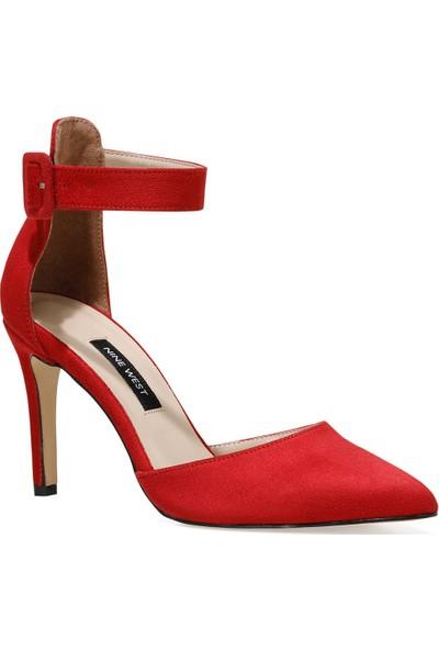 Nine West Ceyna Kırmızı Kadın Topuklu Sandalet