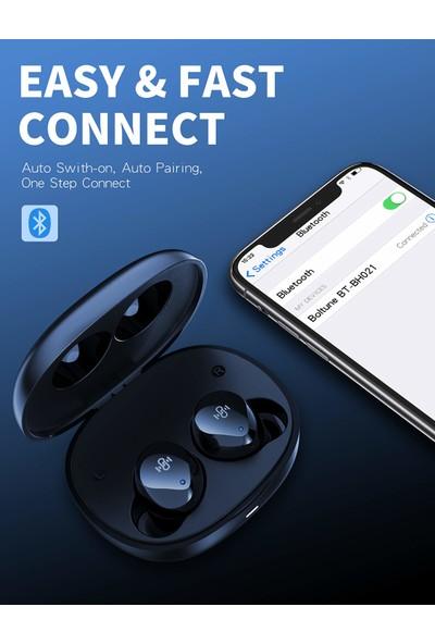 Boltune BT-BH021 Kablosuz Kulaklık Cvc 8.0 Stereo Sound Deep Bass Ipx8 Bluetooth V5.2 (Yurt Dışından)