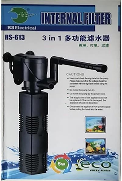 Rs 613 Akvaryum İç Filtre 5W 450 L/h