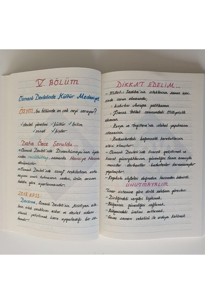 Kr Akademi Yayıncılık KPSS Tarih Not Defteri