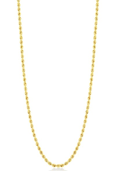 Gelin Pırlanta 14 Ayar Altın Zincir Kolye Gln100253