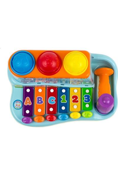 Toysery Rainbow Ksilofon Vurmalı Piyano Oyuncak